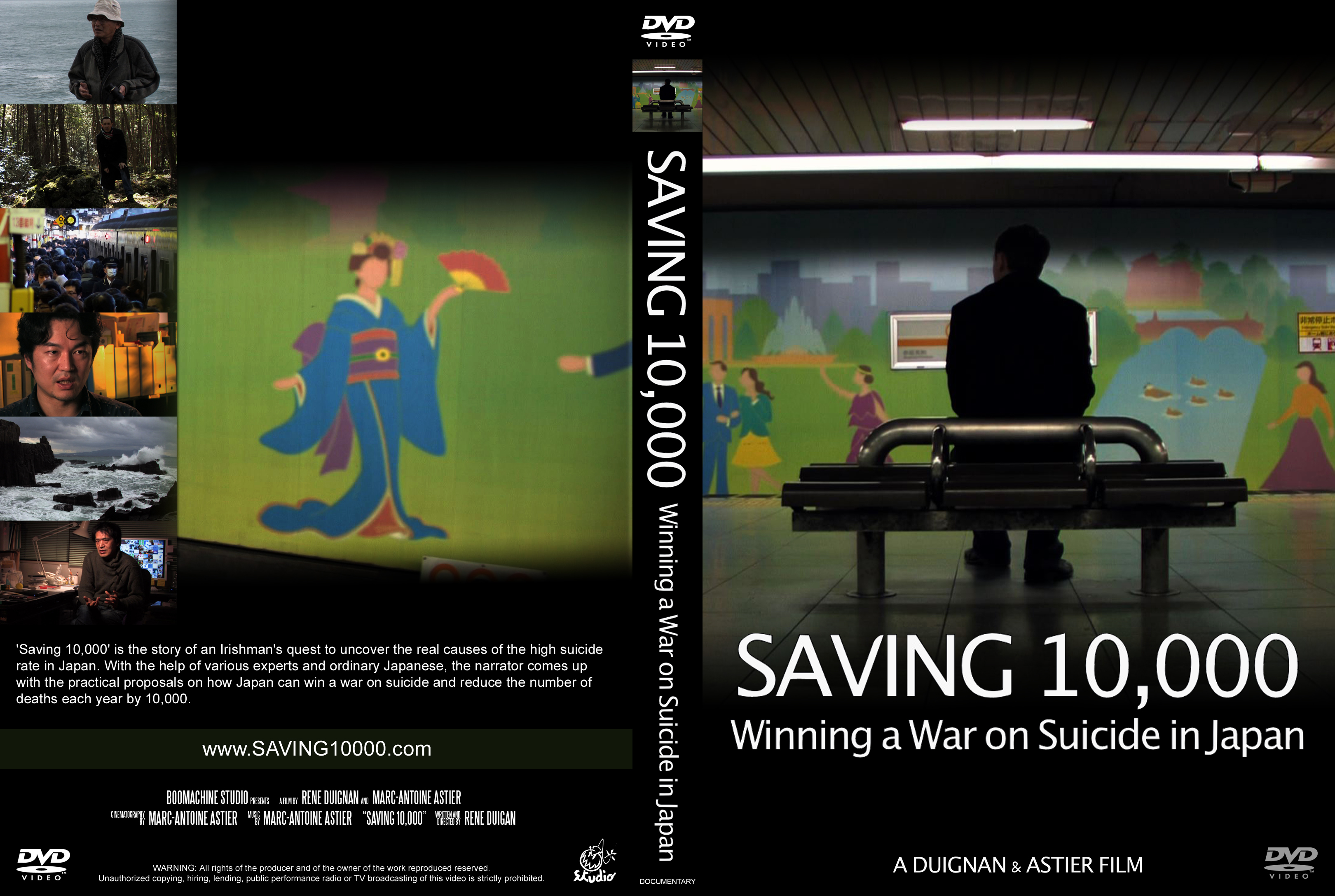 """Saving 10,000:Winning A War On Suicide"" Screened at the National Diet, Publicly Released"