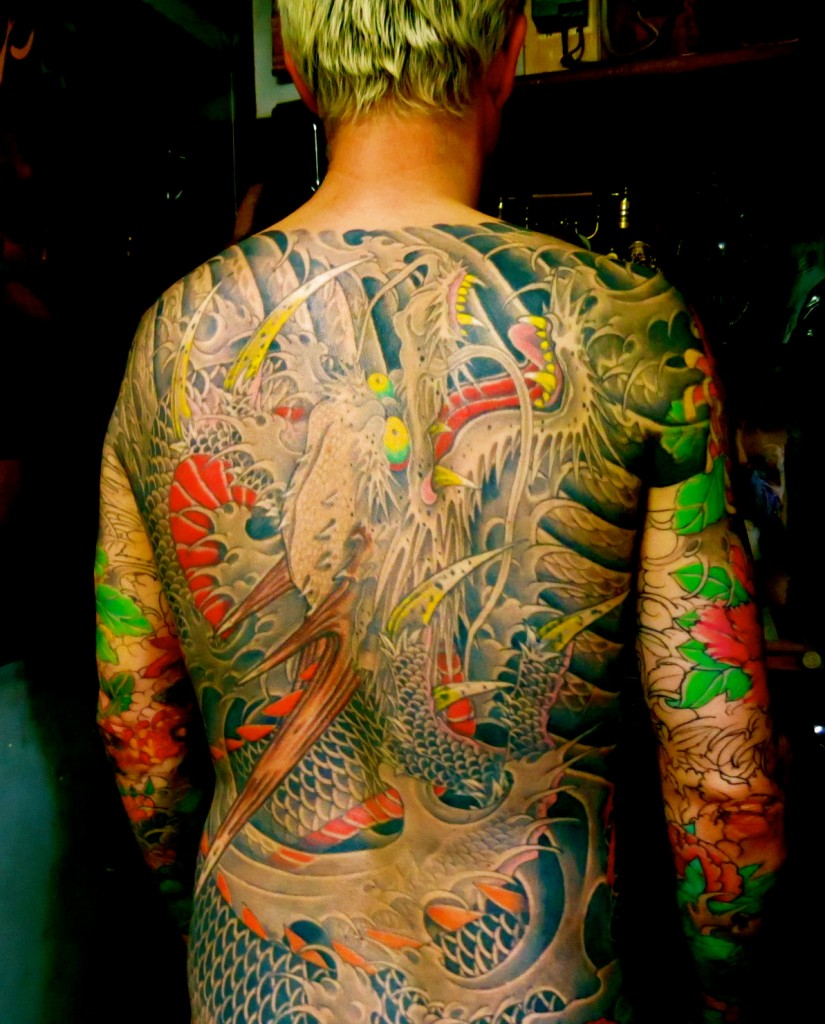 John was tattooed by Horiyoshi III since XXX