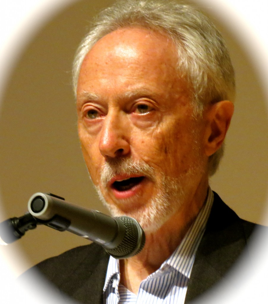 "South African Nobel price winner for Literature, J.M. Coetzee reading his upcoming novel ""The Childhood of Jesus"" at Roppongi Hills"