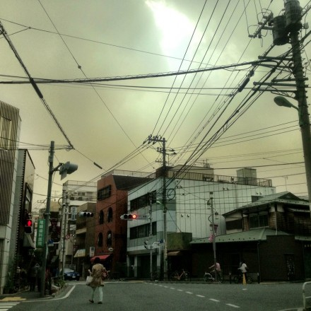 Tokyo is wrapped in a yellow haze today as the &quot;Smog From Nowhere&quot; ( envelops the city