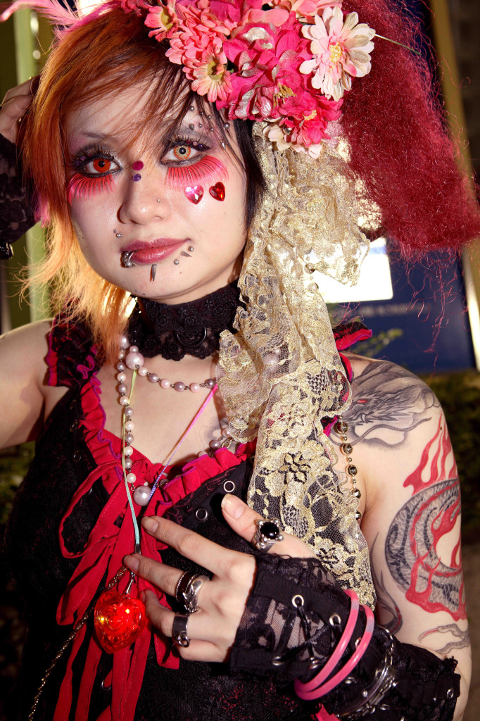 Artist Name: Yoshinaga Masayuki Title of the work: Goth-Loli (Gothic-Lolita) 2006 / 2013