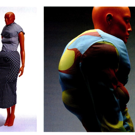 Rei Kawakubo's works for Comme des Garcons, Spring/Summer 1997. Her work is extensively featured in the Future Beauty: 30 Years of Japanese Fashion exhibit and book.