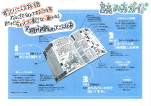 A guide to reading the annual monolithic almanac of important words in Japan. 現代用語の基礎知識