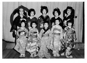 Japanese Americans managed to keep their cultural arts alive in the camps. Photo courtesy of Reiko Iwanaga.