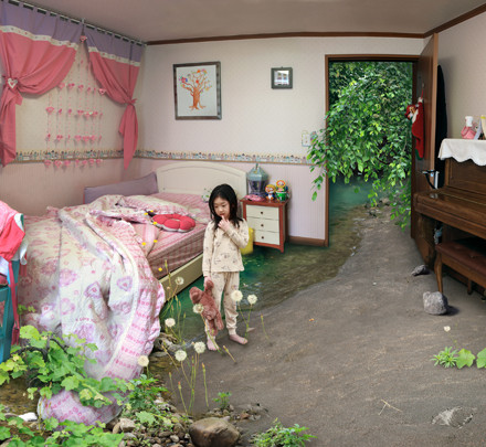 Won Seoung Won Oversleeping (from the series My Age of Seven)2010 Type C-print  86 x 120 cm