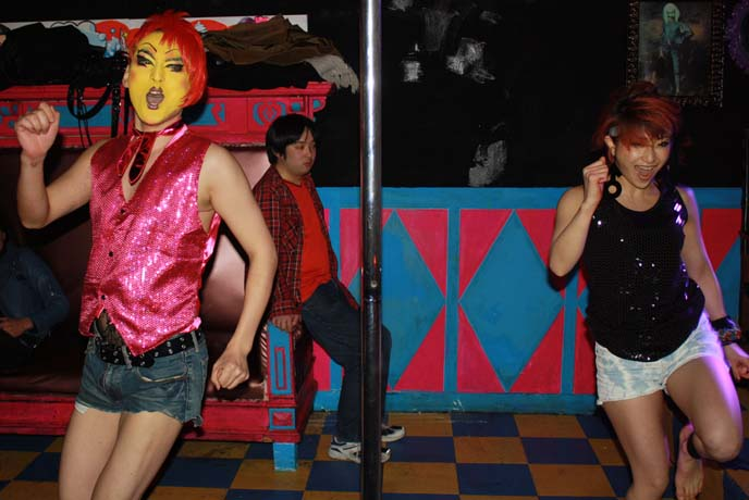 Pole dancing goths, Day-Glo Dominatrix, and gay pride–a crazy night at Tokyo Decadance