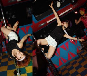 La Carmina blog,pole dancing inversions, asia pole dance