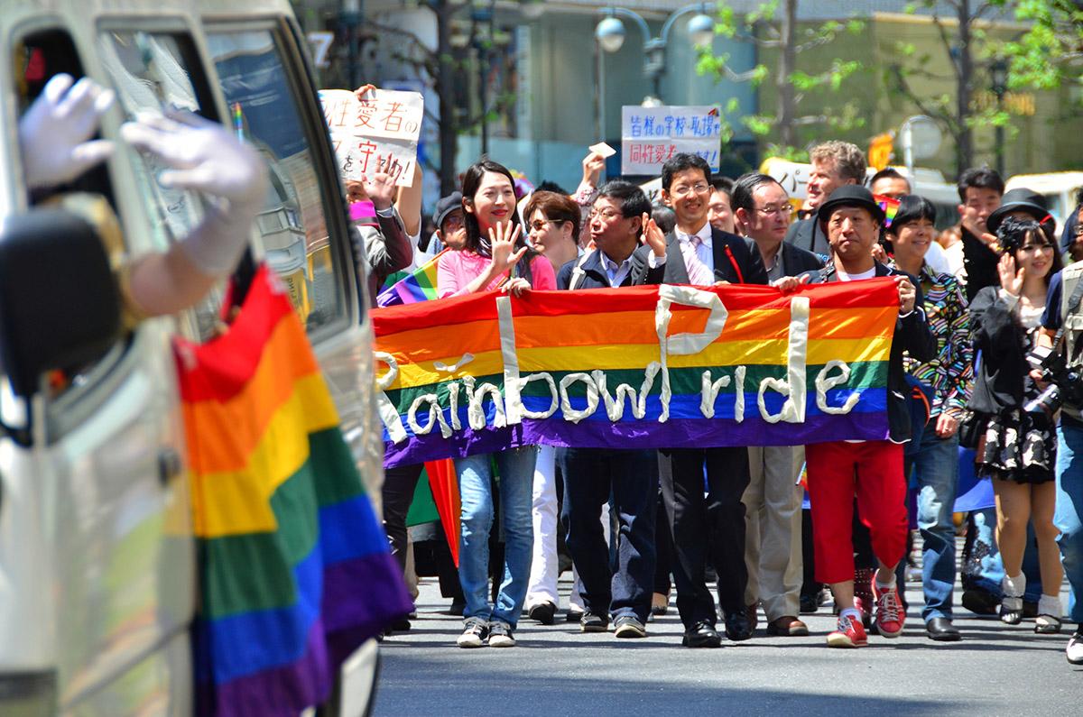 Tokyo Rainbow Pride 2014