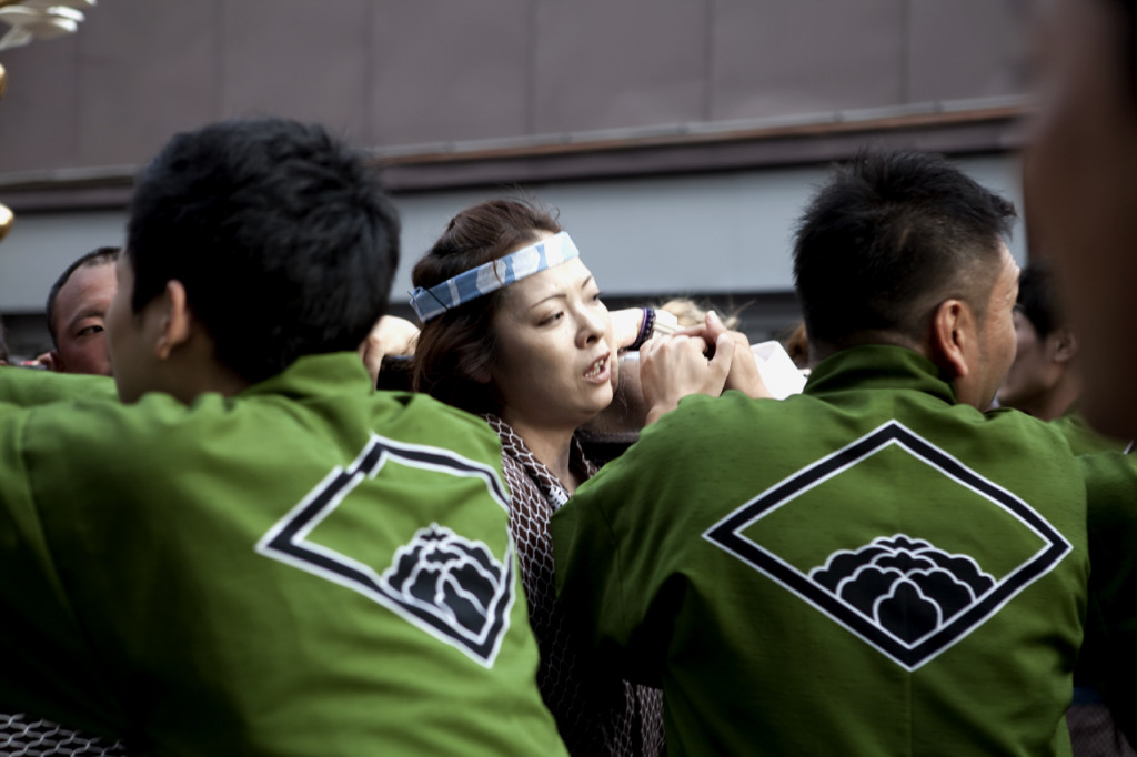 The Sanja Matsuri is held every day. Today May 18th  (2014) is the last day this year. Photos by Chloe' Jafe
