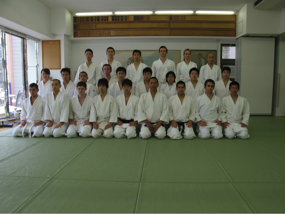 Senshusei class of 2013. Author is front row, 2nd from right.