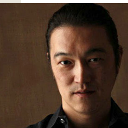 Kenji Goto, freelance journalist captured by ISIS.