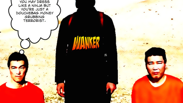 """I know Ninjas and you're no Ninja. You're just a douchebag money grubbing terrorist."""