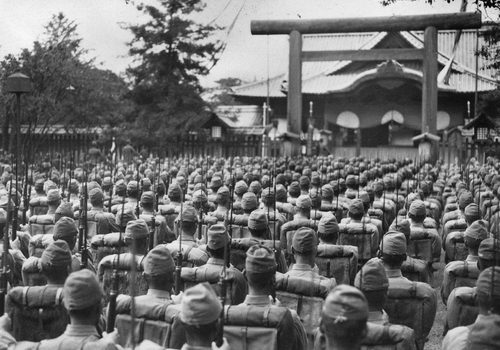 shintoism and the japanese nation essay Japanese religion essays:  shinto which developed a nation's folk religion and buddhism which was brought to  japanese religion many japanese show faithfulness.