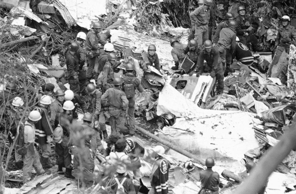 便 日本 事故 123 航空 墜落