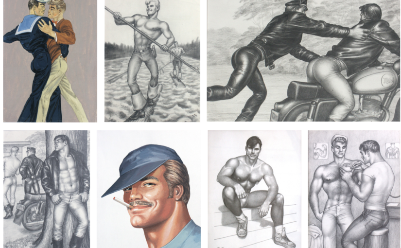 The (Homoerotic) World of Tom of Finland: Reality and Fantasy opens September 18th. First time Tom shows in Japan!